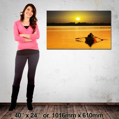 1016x610mm Landscape Canvas, High Quality Print, Made in NZ