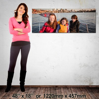 1220x457mm, Quality Panorama Canvas Print, Made in NZ