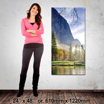 Portrait Canvas, Made in NZ, 610x1220mm