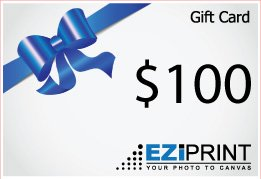 $100 Canvas Print gift Voucher