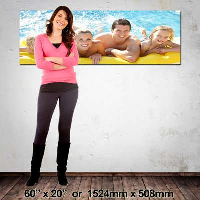 Extra Large Canvas Print, Made in NZ, 1524x508mm