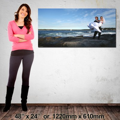 NZ-Made Landscape Canvas, 1220x610mm