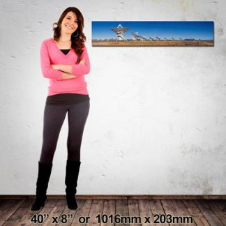 1016x203mm Panorama Canvas Print, NZ-Made