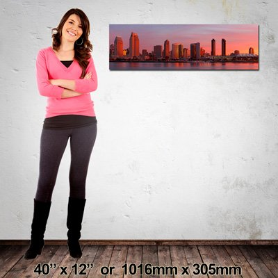 Panorama Canvas Print, 1016x305mm, Made in NZ