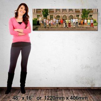 Panorama Canvas Print, 1220x406mm, NZ-Made