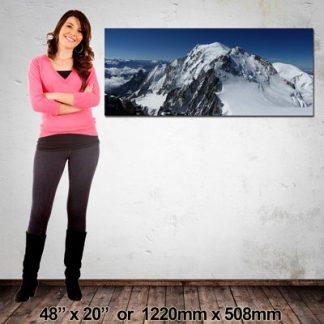 Panoramic Canvas Print, 1220x508mm, NZ-Made