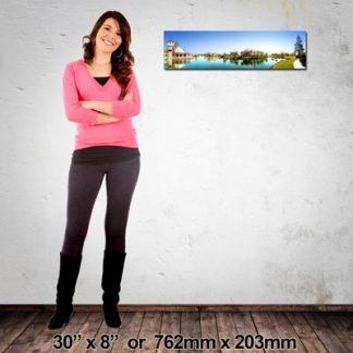 Canvas Print, Panorama 762x203mm, Made in NZ