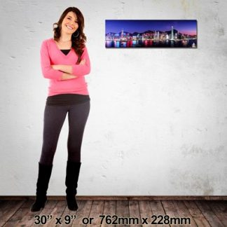 NZ-Made Canvas Print, Panorama 762x228mm
