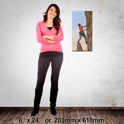 EZIPRINT Portrait Canvas, Made in NZ, 203x610mm