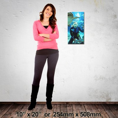 EZIPRINT Portrait Canvas, 305x457mm, Made in NZ
