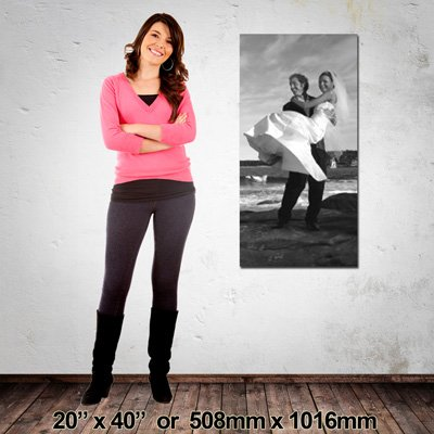 EZIPRINT Portrait Canvas, 508x1016mm, Made in NZ