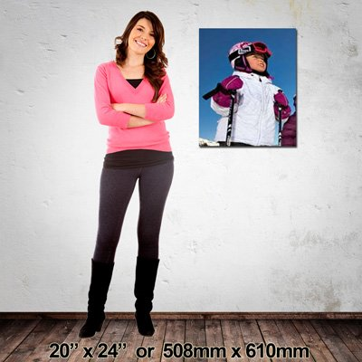 508x610mm EZIPRINT Portrait Canvas, Made in NZ