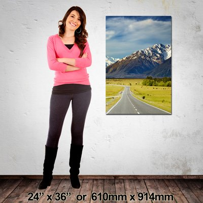 610x914mm, Portrait Canvas, Made in NZ by EZIPRINT
