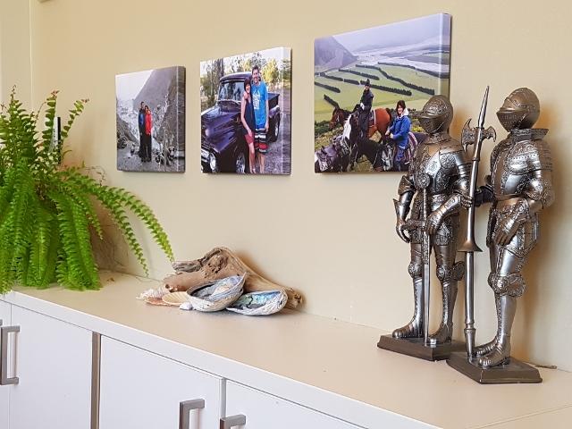 creative triptych canvas display ideas