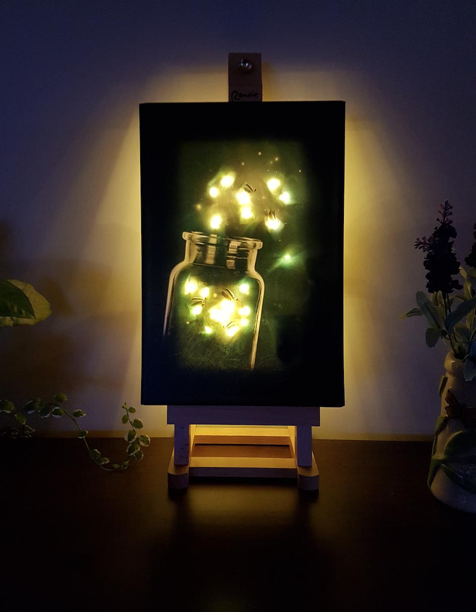 Firefly Canvas Print Portrait Eziprint